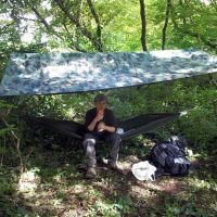 hammock & shelter
