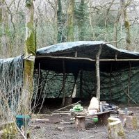new camp shelter
